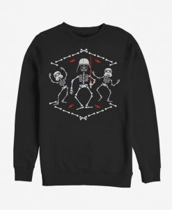 Dark Side Skeletons Sweatshirt ZNF08