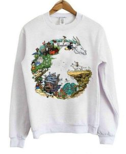 Dragon Studio Ghibli Sweatshirt ZNF08