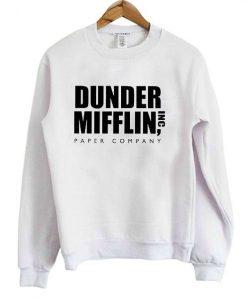 Dunder Mifflin Paper Company Crewneck Sweatshirt ZNF08