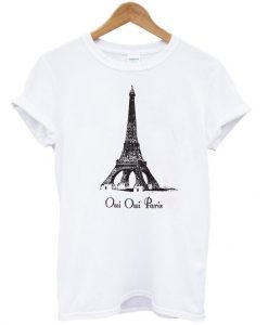 Eiffel tower shirt znf-8