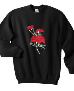 Flowers sweatshirt ZNF08