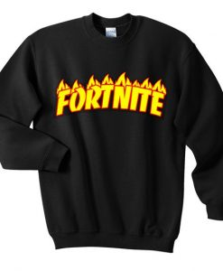 Fornite fire sweatshirt ZNF08