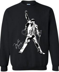 Freddie Mercury Queen Pullover Sweatshirt ZNF08