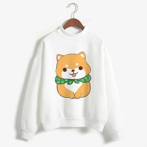 Funny Print Sweatshirt ZNF08