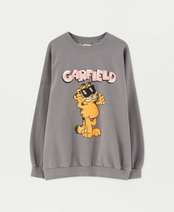 Garfield faded sweatshirt ZNF08