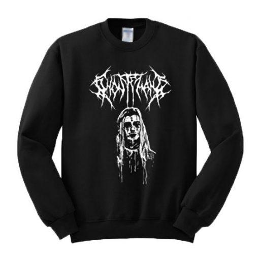 Ghostemane Graphic Sweatshirt ZNF08