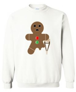 Gingerbread man Sweatshirt ZNF08