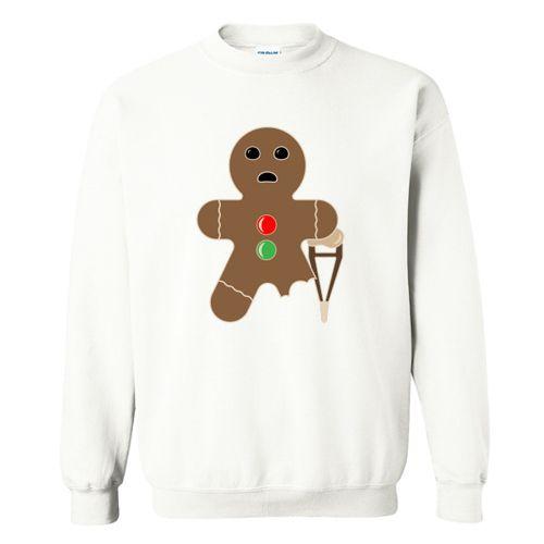 Gingerbread man Sweatshirt ZNF08