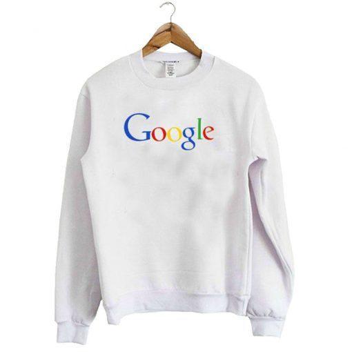 Google Logo Sweatshirt ZNF08