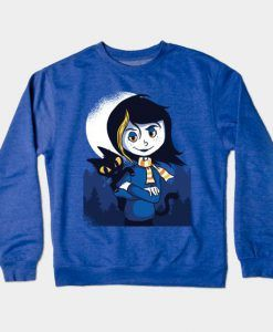 Goth girl Sweatshirt ZNF08