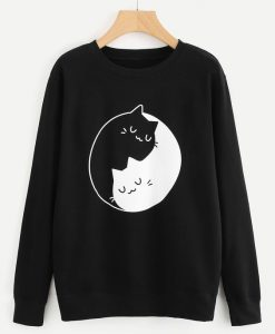 Graphic Print Sweatshirt ZNF08