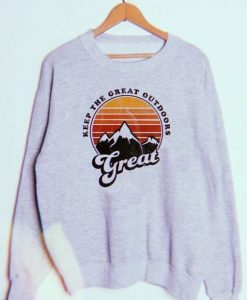 Great Outdoors Pullover Sweatshirt ZNF08