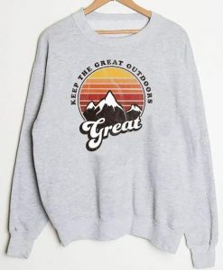 Great outdoors Sweatshirt ZNF08