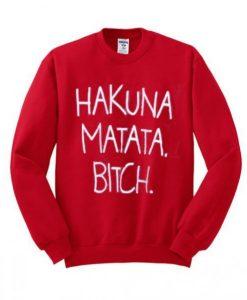 Hakuna Matata Sweatshirt ZNF08