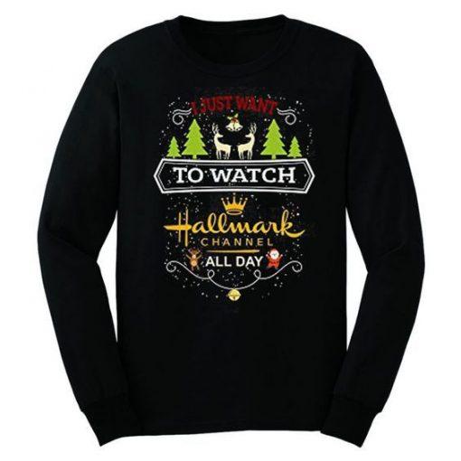 Hallmark-Channel-Sweatshirt ZNF08