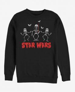 Halloween Vader Skeletons Sweatshirt ZNF08