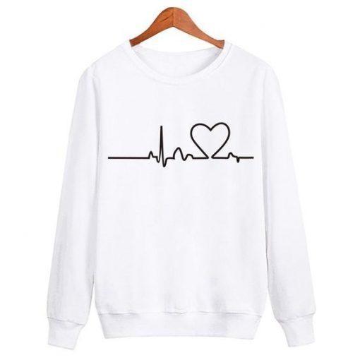 Heartbeat Sweatshirt ZNF08