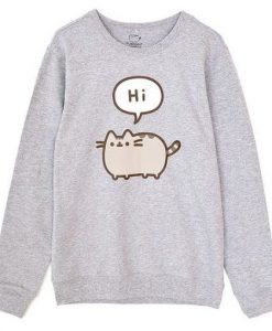 Hi Pusheen Sweatshirt ZNF08