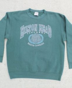 Hilton Head Island South Carolina Crewneck Sweatshirt ZNF08