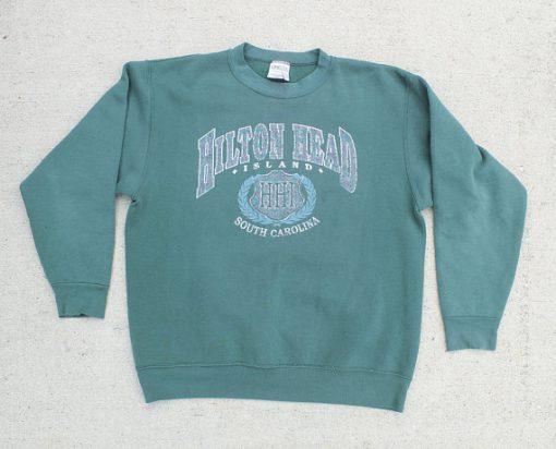 Hilton Head Island South Carolina Crewneck Sweatshirt ZNF08