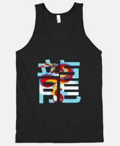 The Year of the Dragon Symbol TANK TOP ZNF08