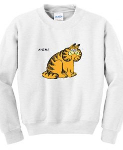 anime garfield sweatshirt ZNF08