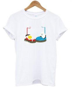 bumper car egg t-shirt ZNF08