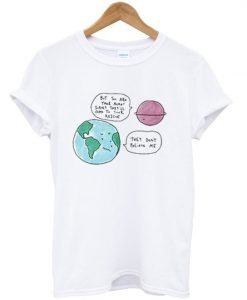 earth day t-shirt ZNF08