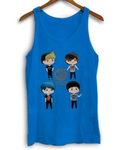 5 Seconds Of Summer Cute Personnel Women Tank Top ZNF08