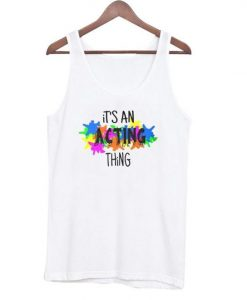 Acting Thing tank top ZNF08