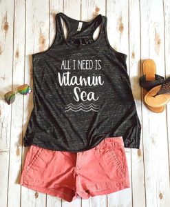All I need is vitamin sea Women's Tank Top ZNF08