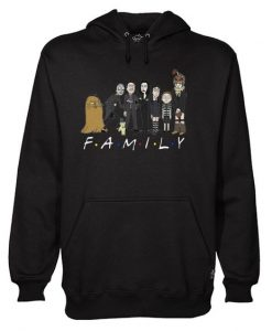 Awesome Harry Potter Rick and Morty Family Friends Hoodie ZNF08