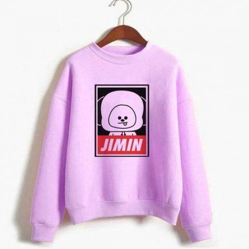 BT21 Jimin Sweatshirt ZNF08
