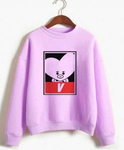 BT21 V Sweatshirt ZNF08