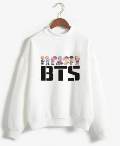 BTS K POP Sweatshirt ZNF08