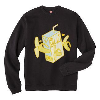 Banana Milk Box Sweatshirt ZNF08