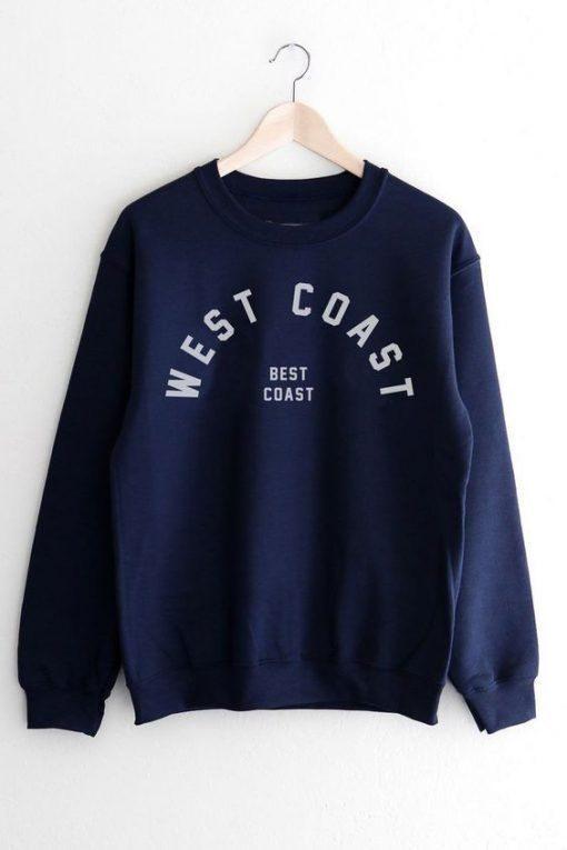 Best Coast Sweatshirt znf08