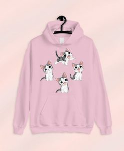 Cat Lover Hoodie ZNF08