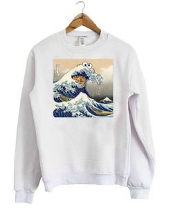Cookie Monster Wave Sweatshirt ZNF08