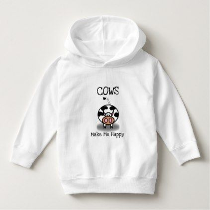 Cows make me happy hoodie ZNF08
