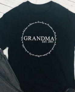Custom Grandma Shirt ZNF08