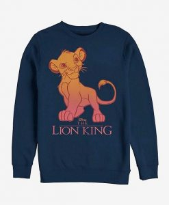 Disney The Lion King Simba Fade Sweatshirt ZNF08
