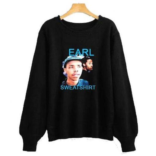 Earl Sweatshirt Black sweatshirt ZNF08
