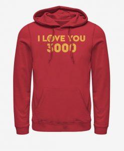 Endgame Love 3000 Hoodie ZNF08