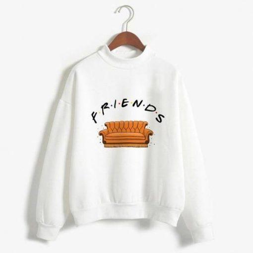 Friends Print Sweatshirt ZNF08