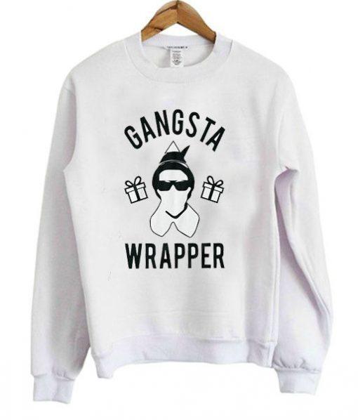 Gangsta Wrapper Sweatshirt ZNF08