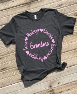Grandma And Mom T-Shirt ZNF08