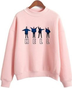 Hell The Beatles Sweatshirt ZNF08