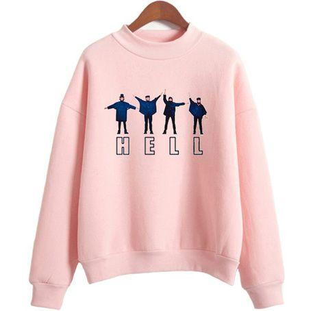 Hell The Beatles Sweatshirt ZNF08
