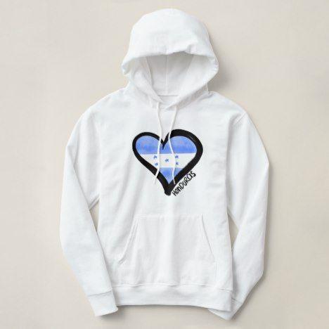 Honduras Heart Hoodie ZNF08